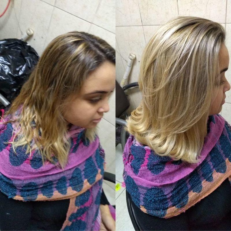 Corte cabelo cabeleireiro(a) maquiador(a) depilador(a) auxiliar cabeleireiro(a) designer de sobrancelhas escovista assistente maquiador(a)