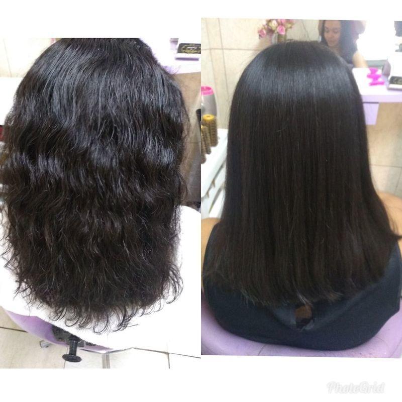 Corte+escova progressiva cabelo cabeleireiro(a) maquiador(a) depilador(a) auxiliar cabeleireiro(a) designer de sobrancelhas escovista assistente maquiador(a)