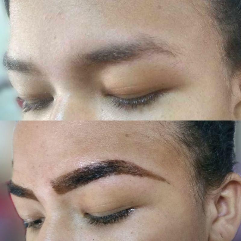 Designer de sobrancelhas C/Henna estética cabeleireiro(a) maquiador(a) depilador(a) auxiliar cabeleireiro(a) designer de sobrancelhas escovista assistente maquiador(a)