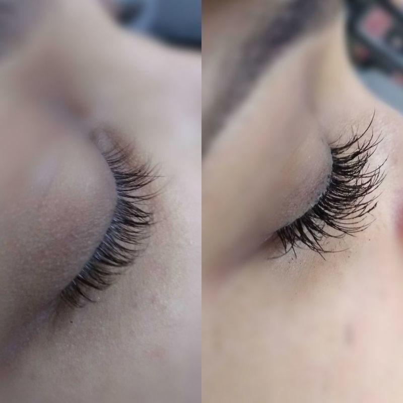 Alongamento de cílios outros cabeleireiro(a) maquiador(a) depilador(a) auxiliar cabeleireiro(a) designer de sobrancelhas escovista assistente maquiador(a)