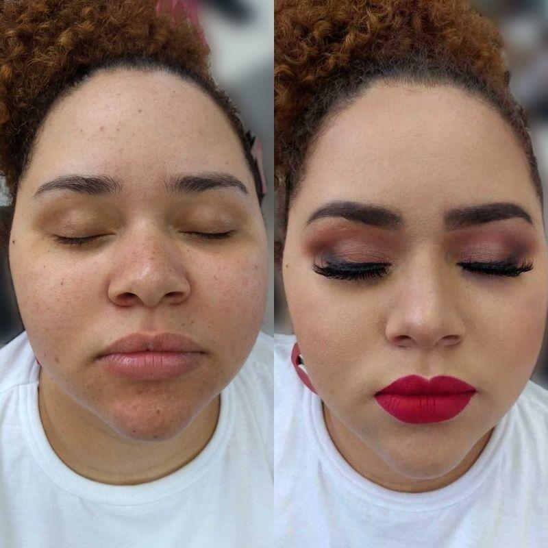 cabeleireiro(a) maquiador(a) depilador(a) auxiliar cabeleireiro(a) designer de sobrancelhas escovista assistente maquiador(a)