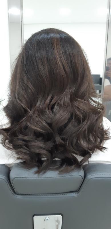 Corte e finalização cabelo cabeleireiro(a)