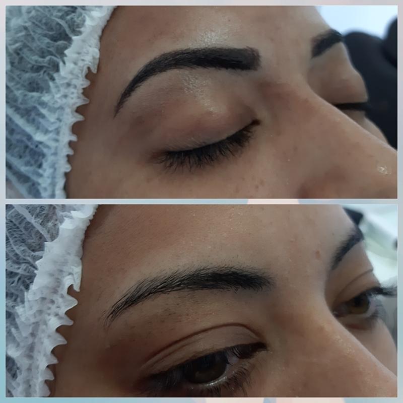 Micropigmentação ombré shadow !!! 😍 outros designer de sobrancelhas maquiador(a) micropigmentador(a)