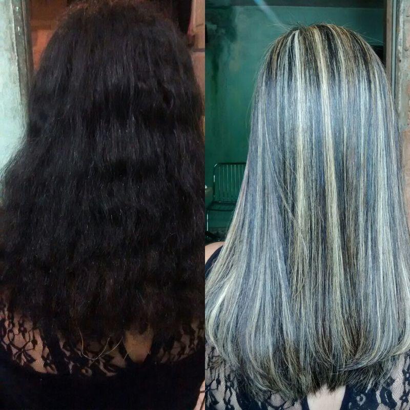 Luzes cabelo auxiliar cabeleireiro(a)