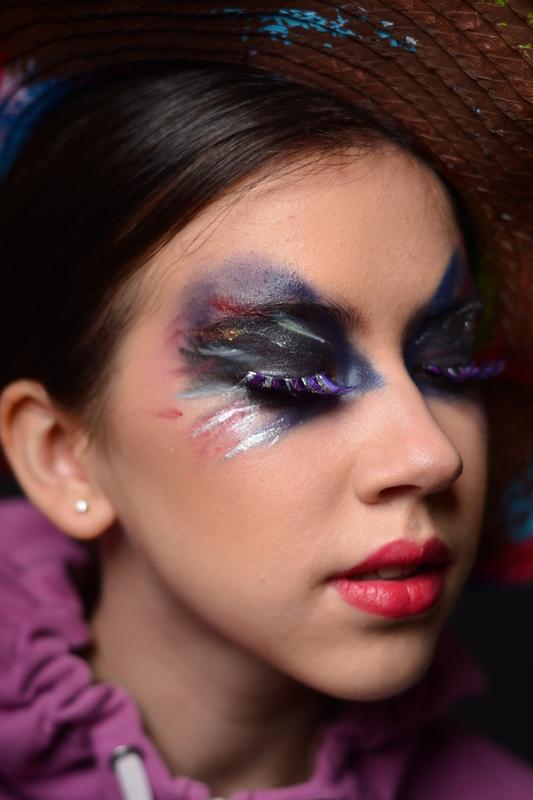 #maquiagem #makeup #beleza #belezafeminina #autoconfiança #cores #universocolorido #vancouver #canada maquiagem maquiador(a)