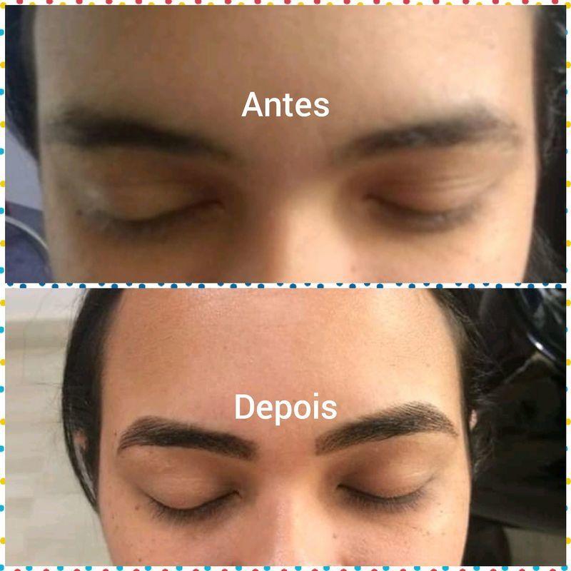 Designer de Sobrancelha com Henna outros manicure e pedicure designer de sobrancelhas depilador(a) outros