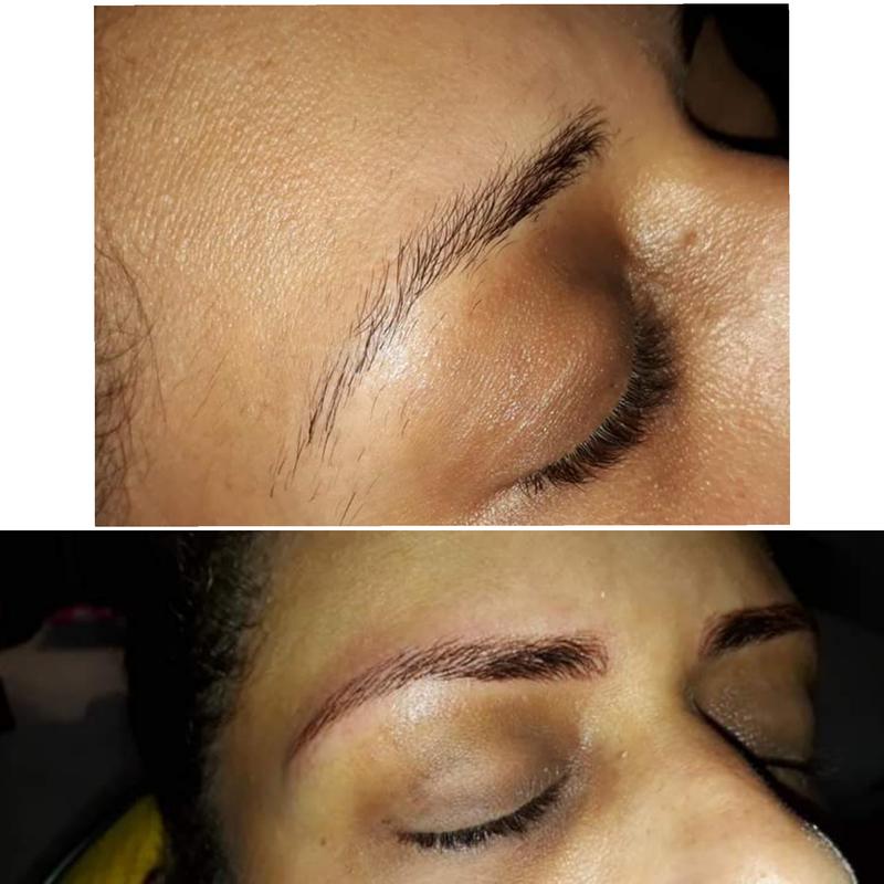 Microbland fio a fio  cabeleireiro(a) designer de sobrancelhas micropigmentador(a)