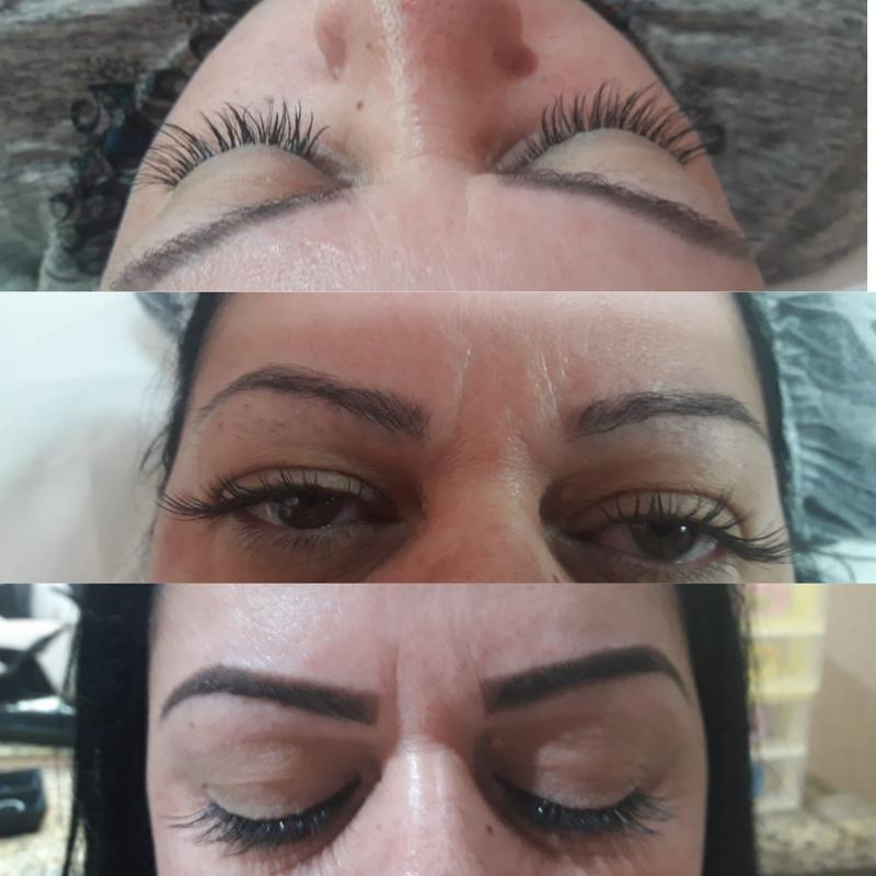 CÍLIOS fio a fio e Design sobrancelha com henna. outros cabeleireiro(a) designer de sobrancelhas micropigmentador(a)