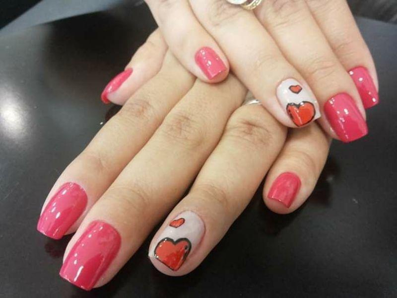 Unhas Love 😍💅 unha manicure e pedicure escovista