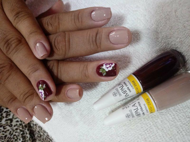 manicure e pedicure escovista