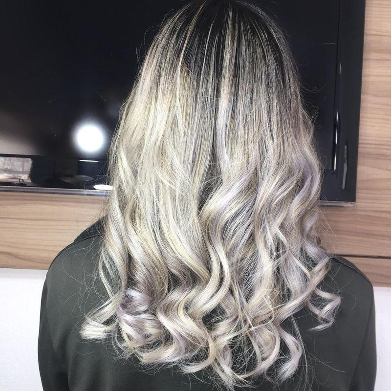 Ombre Hair cabelo cabeleireiro(a) auxiliar cabeleireiro(a) recepcionista