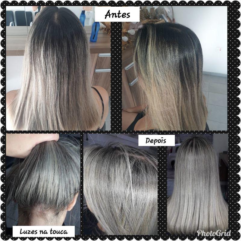 Luzes na touca cabelo cabeleireiro(a) auxiliar cabeleireiro(a) recepcionista
