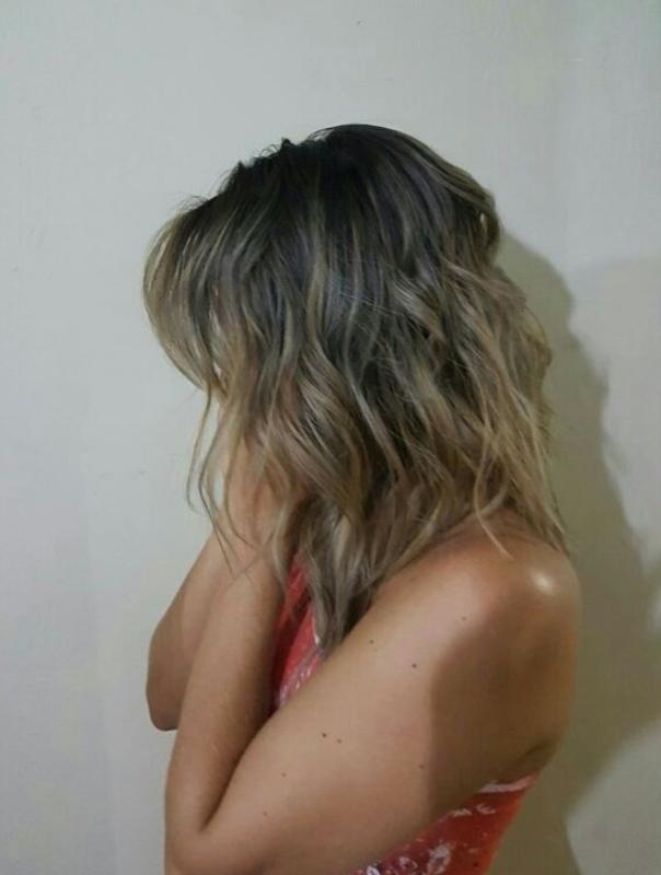#cabelocommechas#cabeloloiro#cabelolindo#cabelo#mechas cabelo cabeleireiro(a) designer de sobrancelhas