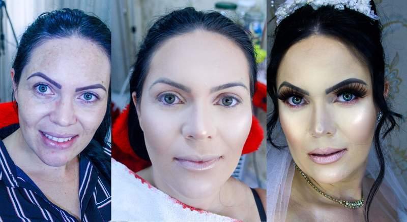 PRODUÇÃO Noiva Classica  maquiagem maquiador(a) designer de sobrancelhas cabeleireiro(a) cabeleireiro(a)