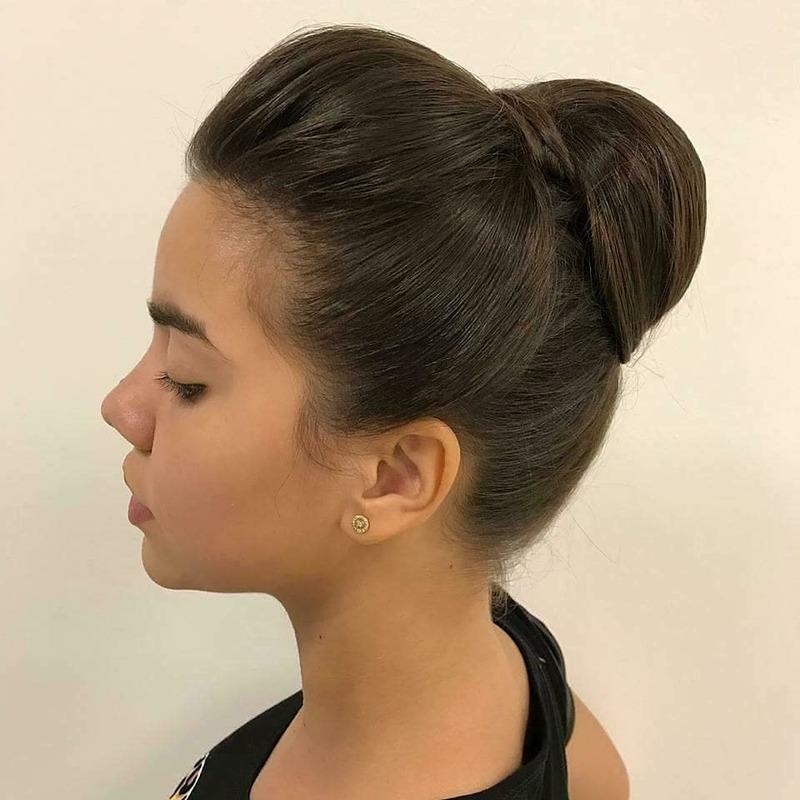 Penteado clásico cabelo cabeleireiro(a)