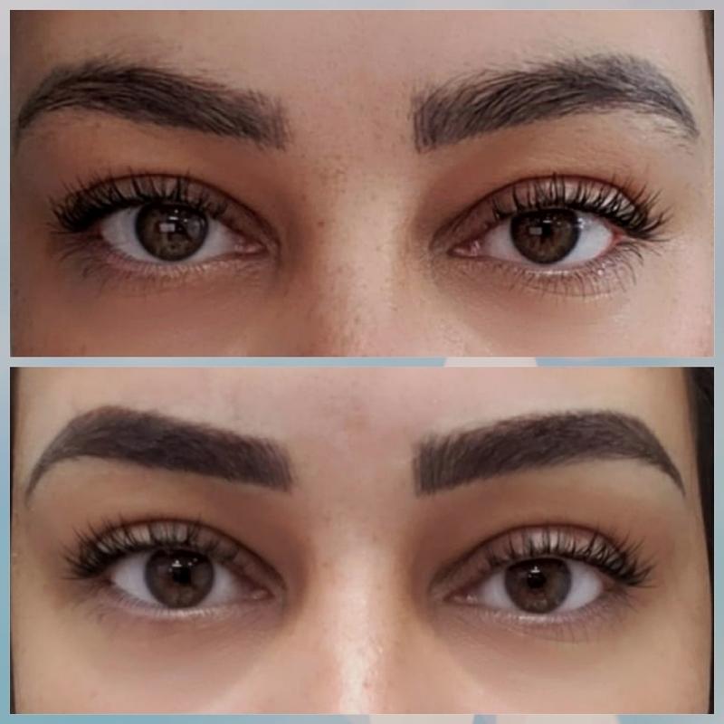 Correção de micropigmentação antiga outros designer de sobrancelhas maquiador(a) micropigmentador(a)