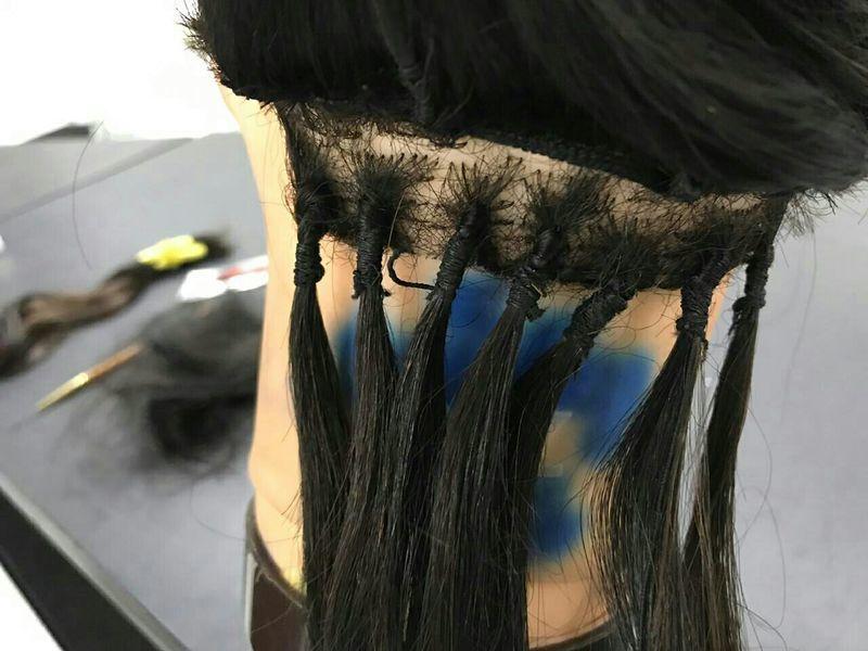 Fio a fio cabelo auxiliar cabeleireiro(a)