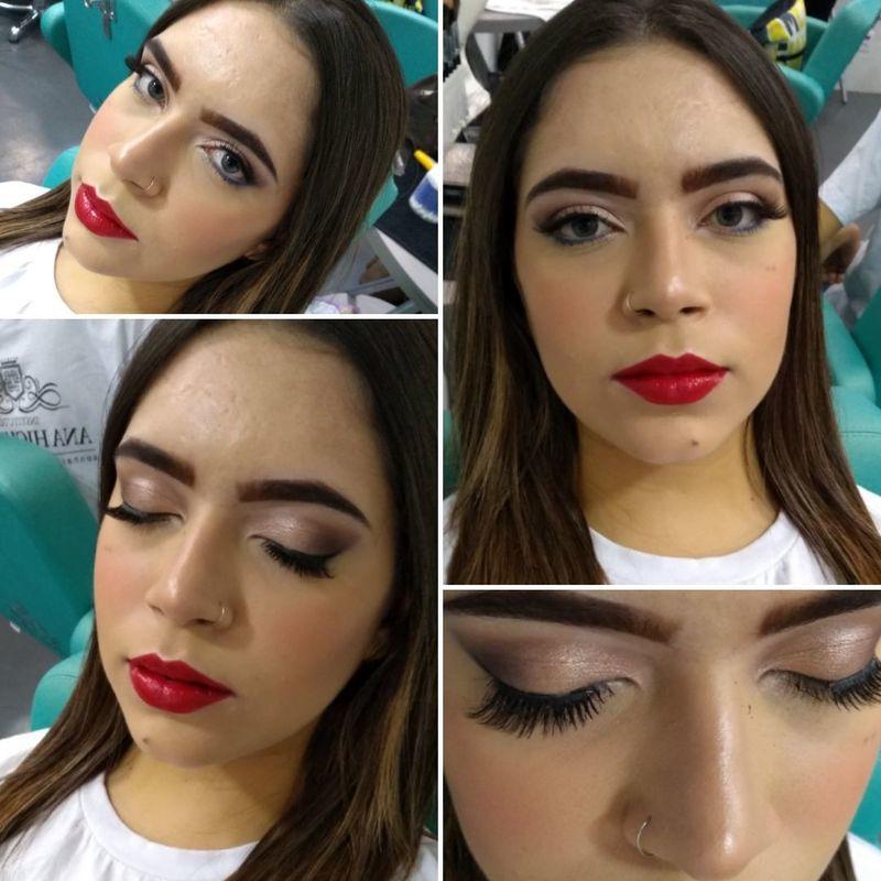 maquiagem recepcionista estudante (maquiador)