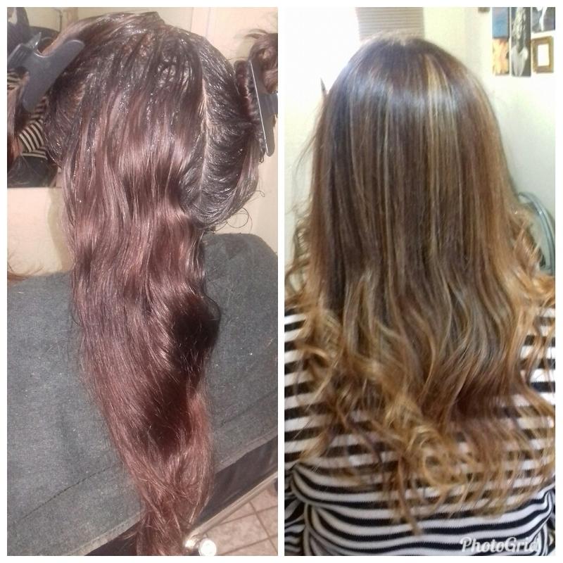 Mechas Ombre Hair / Correção de Cor cabelo cabeleireiro(a)