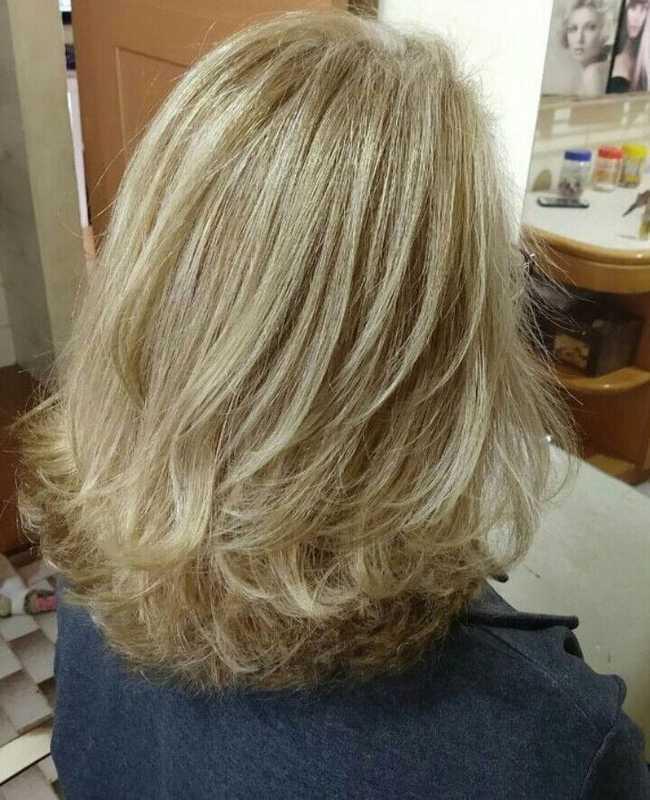 Mechas e  Corte cabelo cabeleireiro(a)