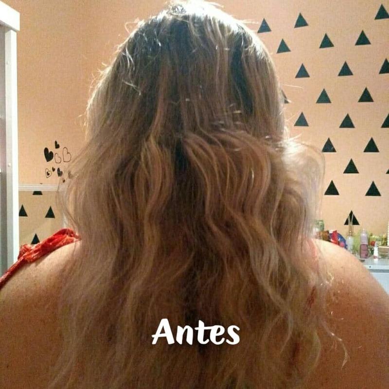 Antes cabelo cabeleireiro(a)