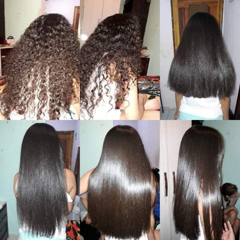 Corte hidratação e ecova cabelo auxiliar cabeleireiro(a)