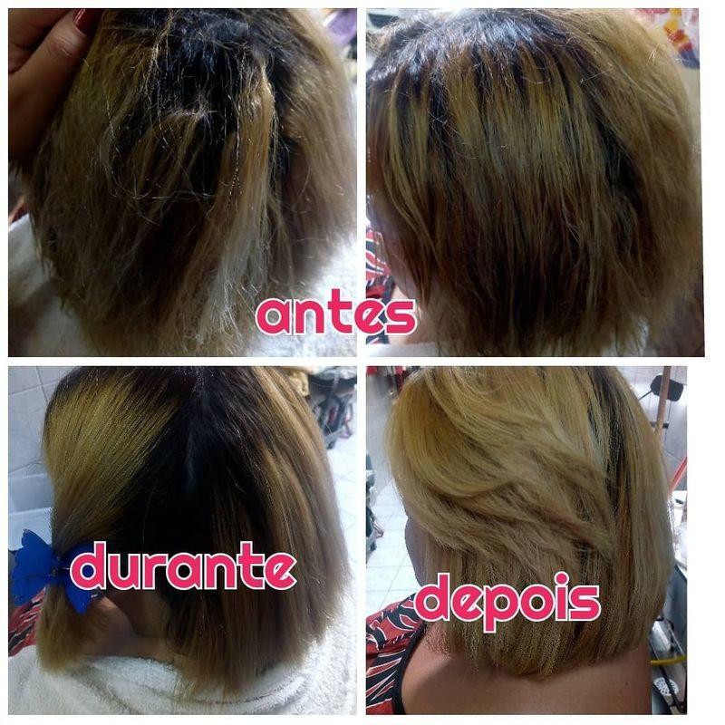 Escova, hidratação,escova progressiva,corte, coloração,mechas cabelo cabeleireiro(a)