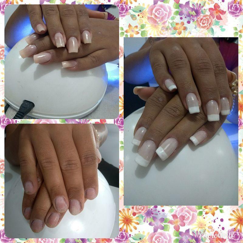 Alongamento de fibra de vidro auxiliar cabeleireiro(a) escovista manicure e pedicure