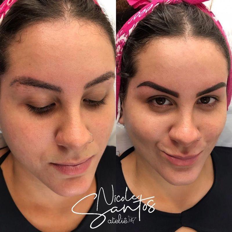 designer de sobrancelhas micropigmentador(a) recepcionista maquiador(a) assistente maquiador(a)