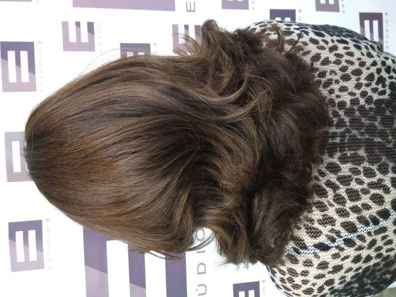 Escova  Hidratação cabelo cabeleireiro(a) auxiliar cabeleireiro(a)