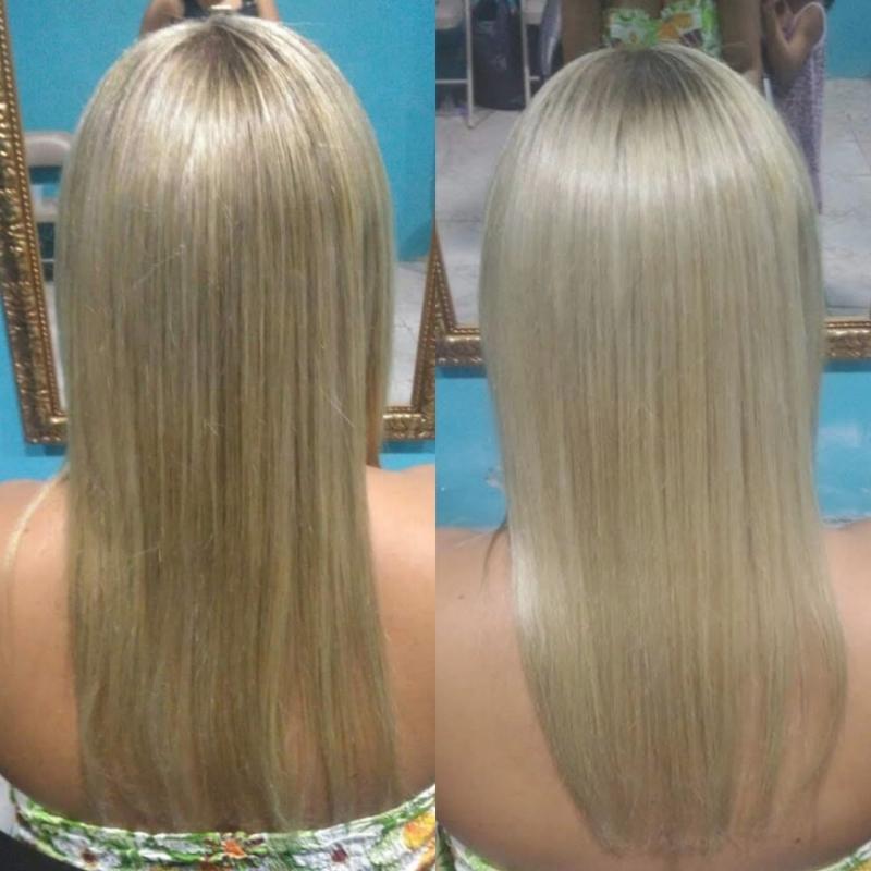 Correção de cor... 💆✨ cabelo maquiador(a) designer de sobrancelhas cabeleireiro(a) escovista depilador(a)
