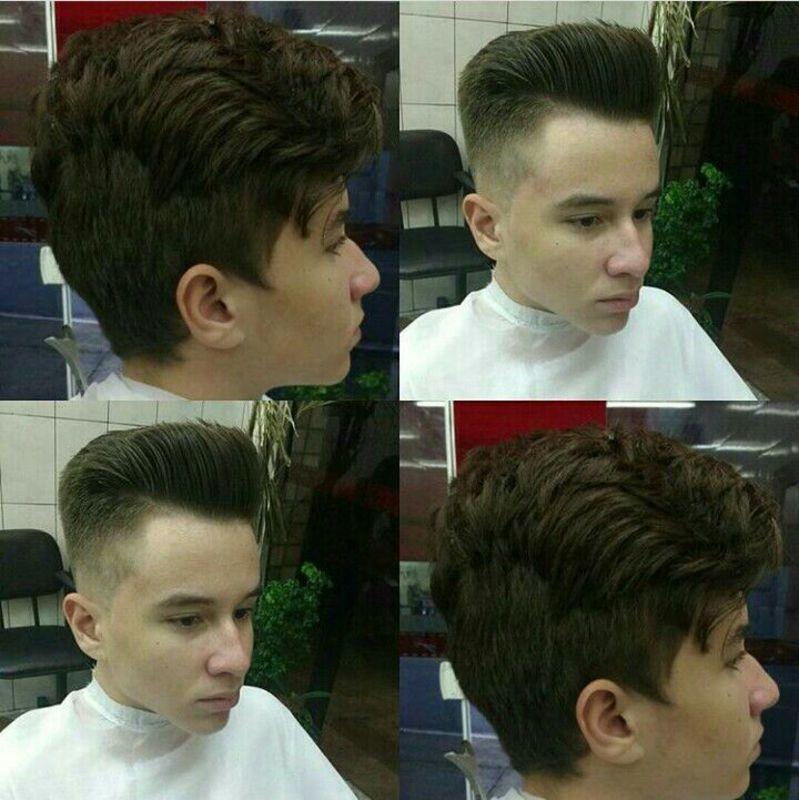 Mais uma antes e depois. auxiliar cabeleireiro(a) barbeiro(a)