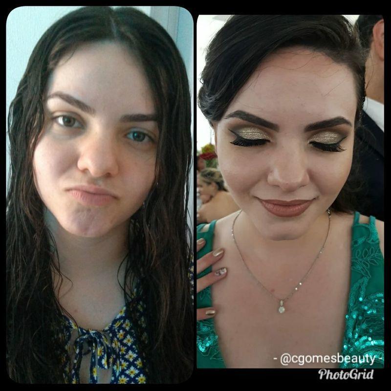 Maquiagem de formatura maquiagem maquiador(a) auxiliar cabeleireiro(a) designer de sobrancelhas