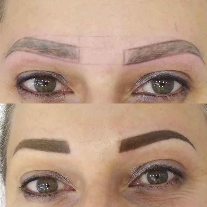 Micropigmentação esfumada micropigmentador(a) dermopigmentador(a) designer de sobrancelhas assistente esteticista