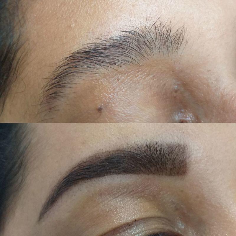 recepcionista manicure e pedicure escovista designer de sobrancelhas