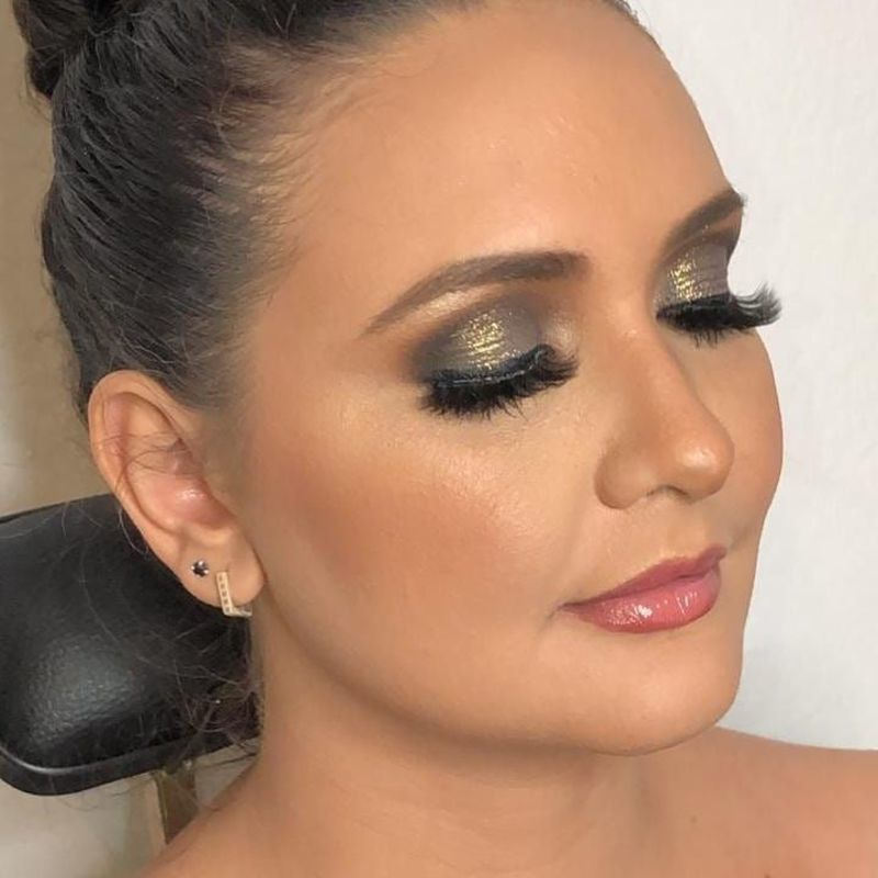 Maquiagem Glam eyes maquiagem cabeleireiro(a) maquiador(a)
