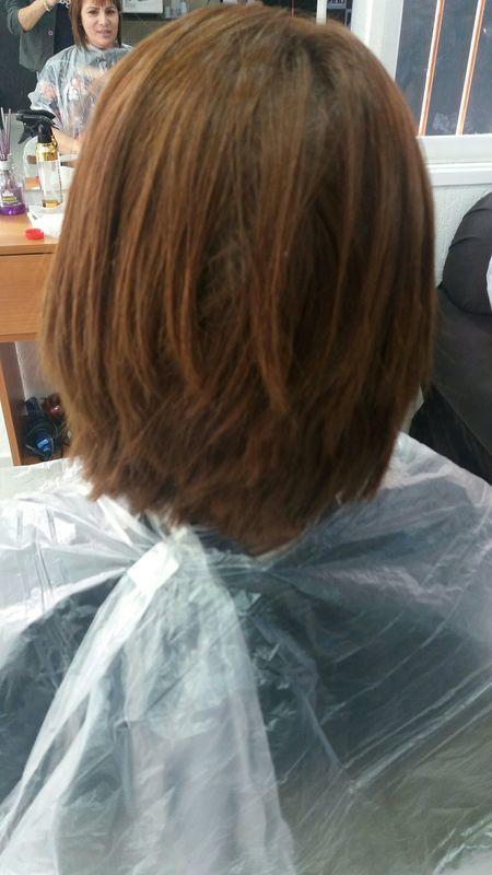 Tranformaçao de cor e corte antes 👆🏻 cabelo cabeleireiro(a) cabeleireiro(a) cabeleireiro(a)