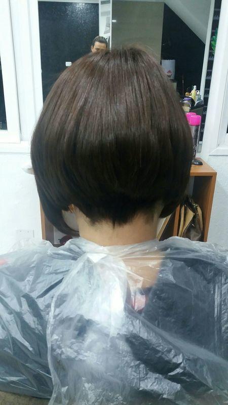 Apos transformar 🥶🥶😀 cabelo cabeleireiro(a) cabeleireiro(a) cabeleireiro(a)