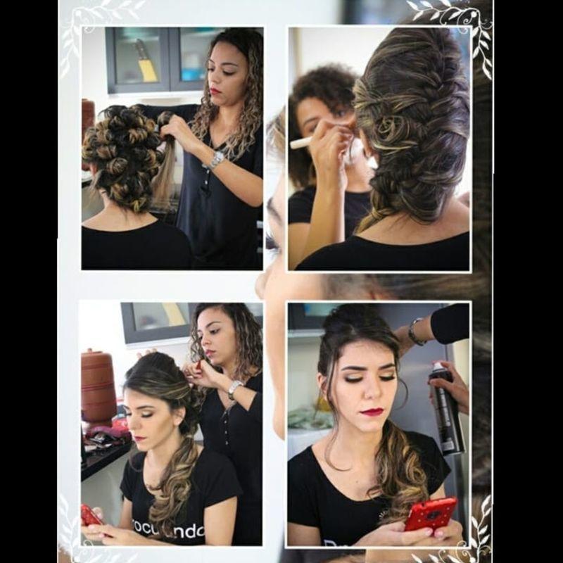 Aquele dia da noiva!   Penteado clássico,  casamento cívil cabelo auxiliar cabeleireiro(a) recepcionista designer de sobrancelhas