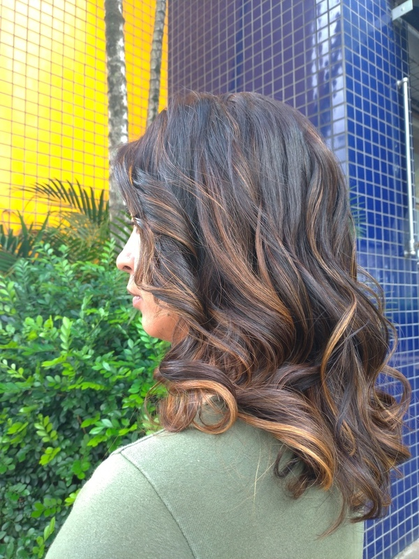 #morenailuminada cabelo cabeleireiro(a)