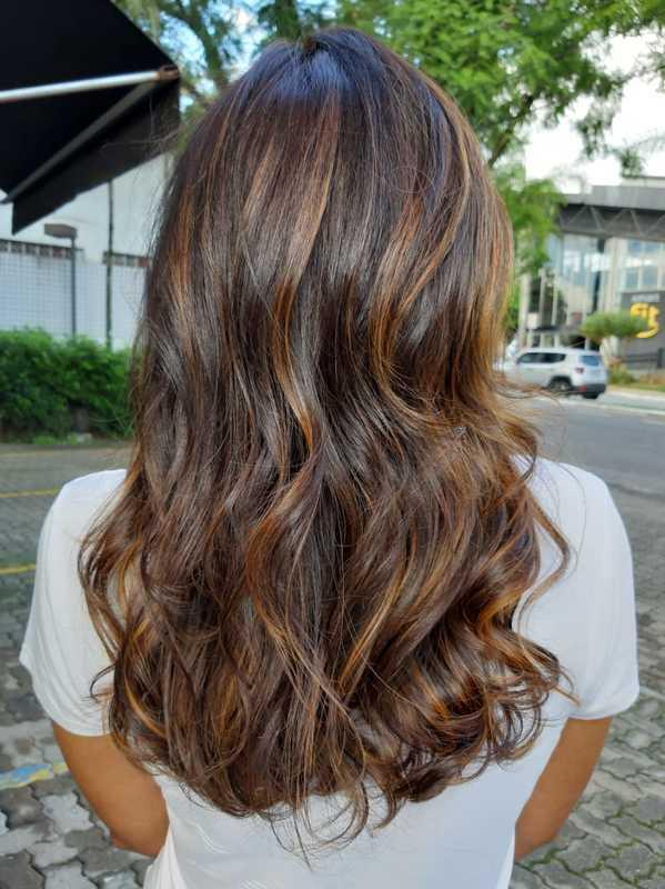 #corte #morenailuminada cabelo cabeleireiro(a)