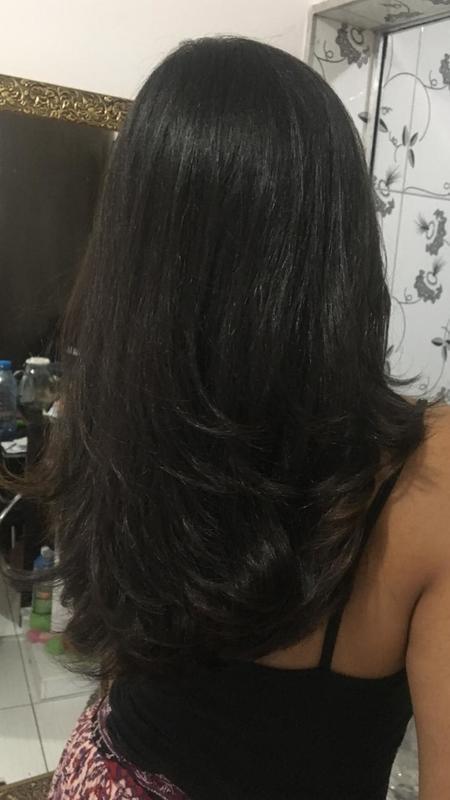 #corte #escova #morena #cabeloslongos cabelo cabeleireiro(a)
