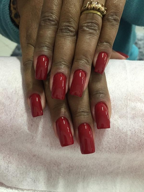Alongamento em fibra de vidro  unha manicure e pedicure