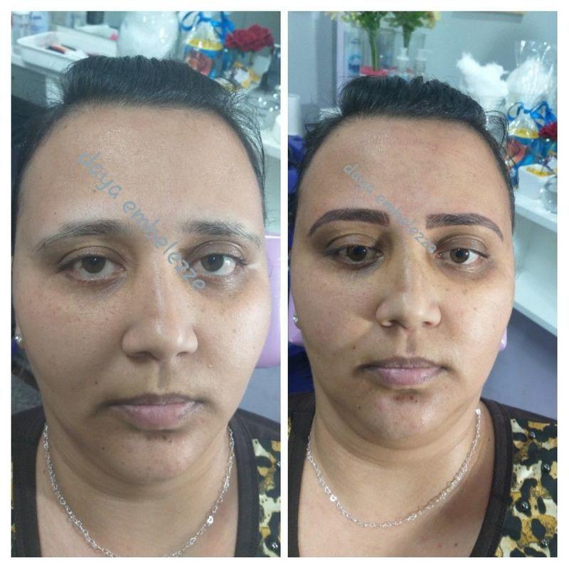 Micropigmentação   Sobrancelhas híbrida sombra.  No primeiro dia feito fica escuro depois do quinto dia fica super natural. outros micropigmentador(a) designer de sobrancelhas dermopigmentador(a) depilador(a) assistente maquiador(a) consultor(a) vendedor(a) outros