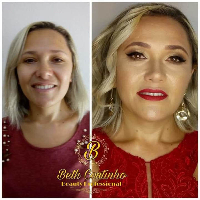 Maquiagem de madrinha maquiagem maquiador(a) auxiliar cabeleireiro(a)
