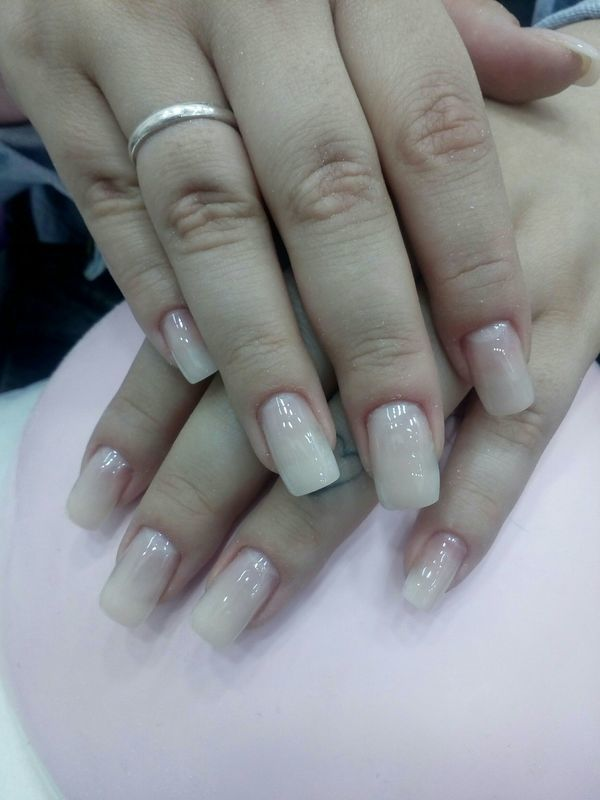 Manutenção de alongamento em gel unha manicure e pedicure manicure e pedicure
