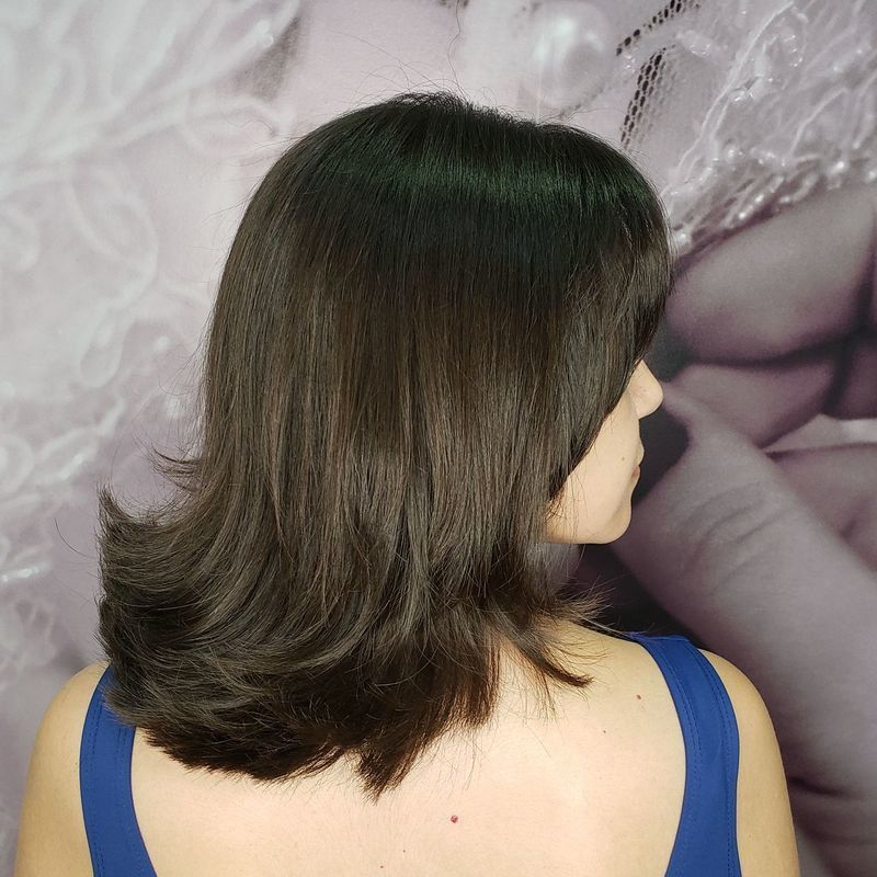 Corte feminino cabelo cabeleireiro(a)
