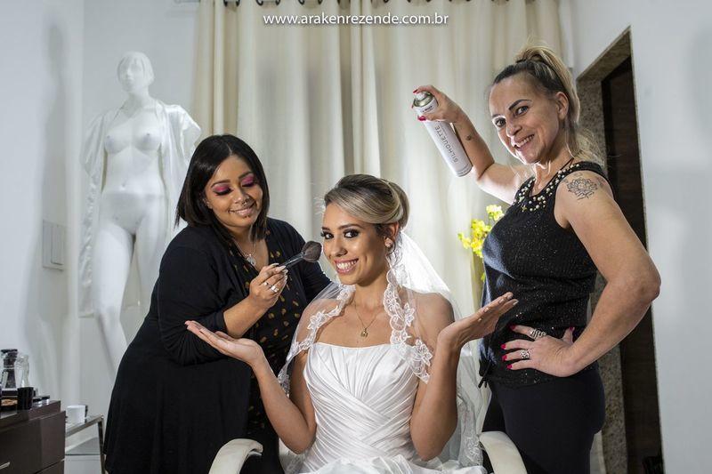Penteados de noivas cabelo cabeleireiro(a)
