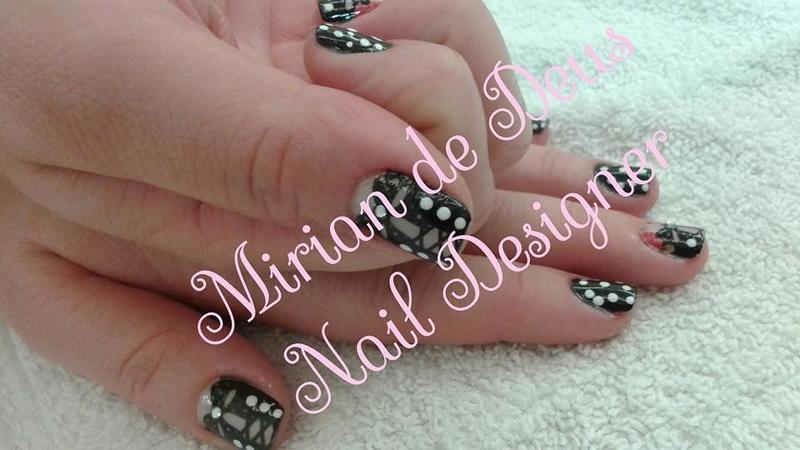 Nail Art Espartilho, aplicação de películas. unha manicure e pedicure