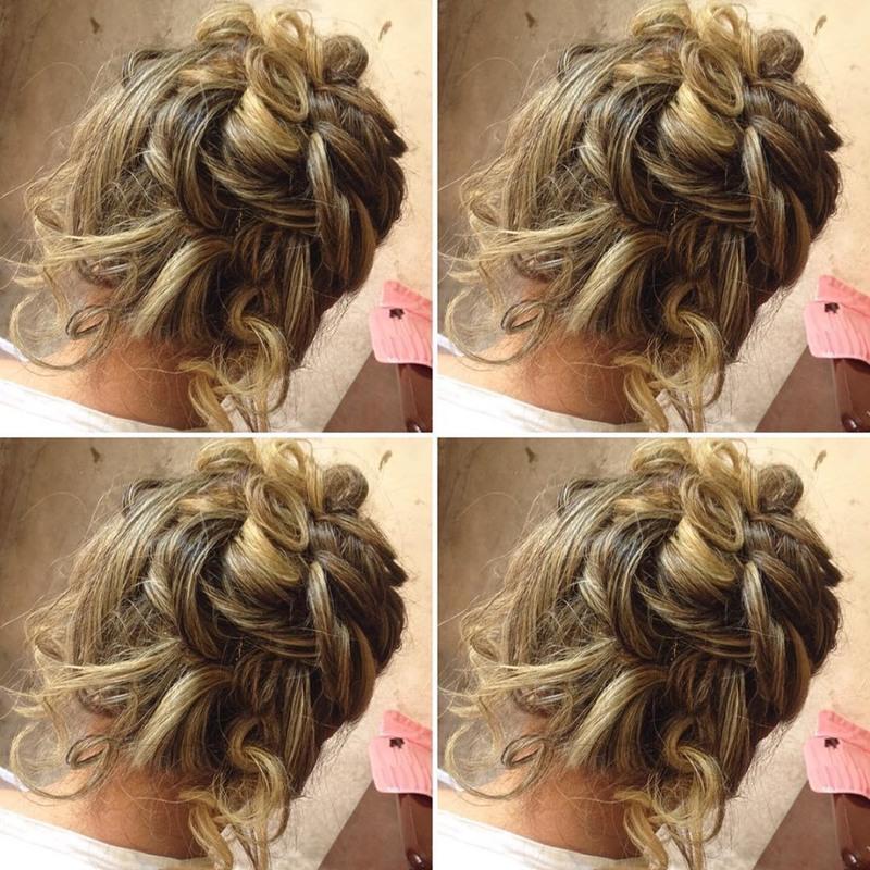 Penteado Madrinha cabelo maquiador(a)